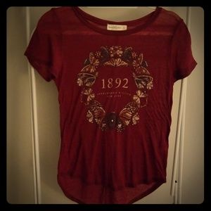 Short sleeve Abercrombie and Fitch top
